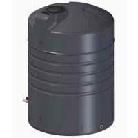 Tankmasta 3000L Round Rainwater Tank