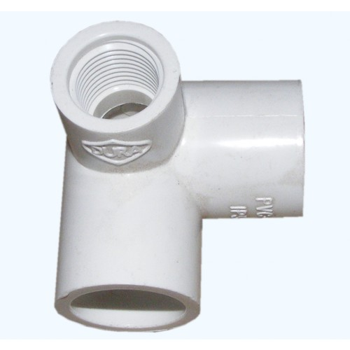 Spears PVC Side Outlet Elbow 20mm x 1/2