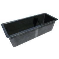 Garden Pond - Fibreglass rectangular Black Large