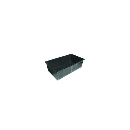 Garden Pond - Fibreglass Rectangular Black Small