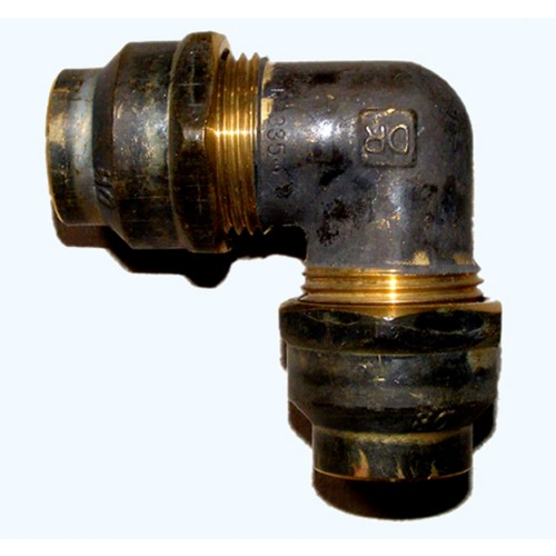 Brass Flared Compression Elbows