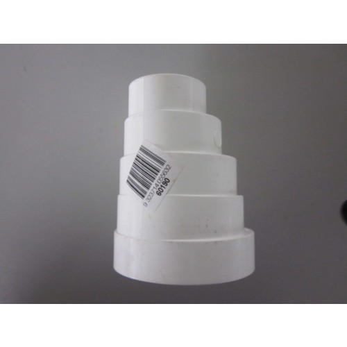 PVC Storm Water Downpipe Adapt Round 90-40