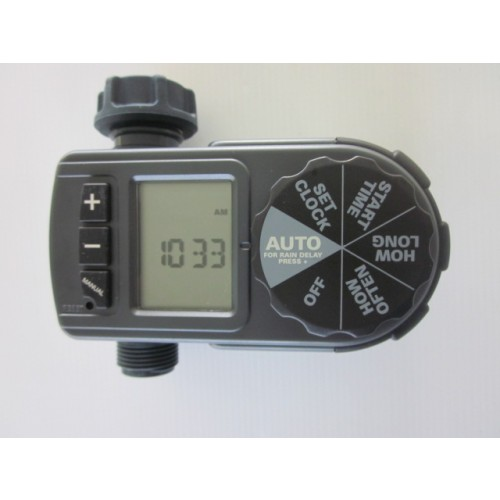 pope digital set automatic tap timer instructions
