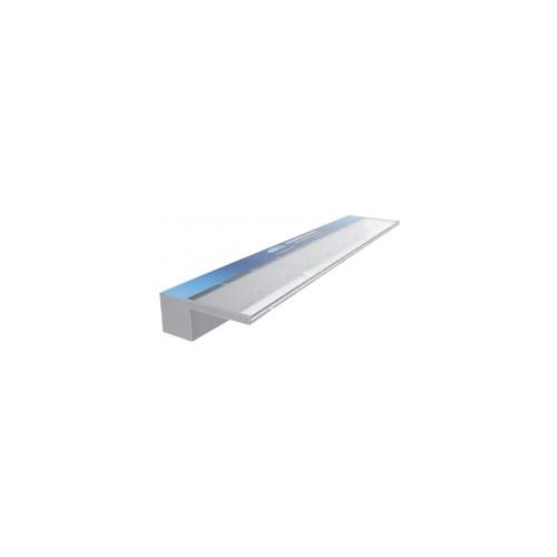 Aquaedge Acrylic Waterwall - Bottom Entry 125mm Lip