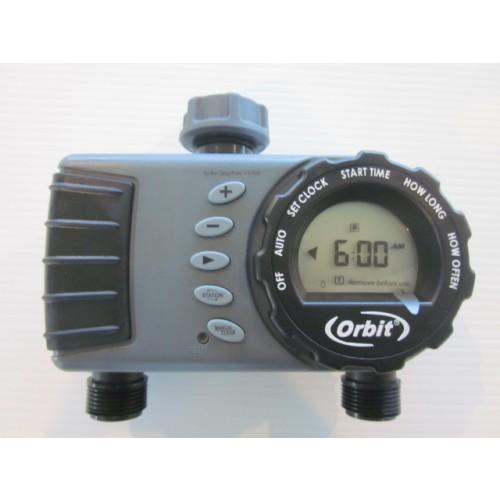 Orbit 2 Station Digital Tap Timer