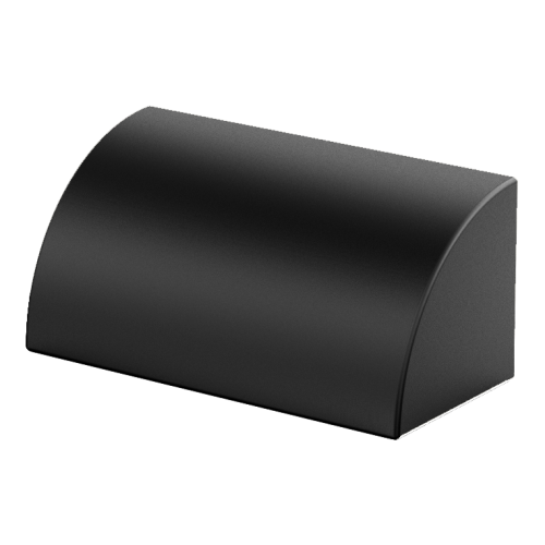 Aqualux Black LED Phoenix Step/Wall Light
