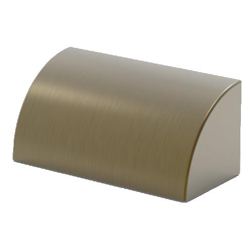 Aqualux Aged Brass LED Phoenix Step/Wall Light