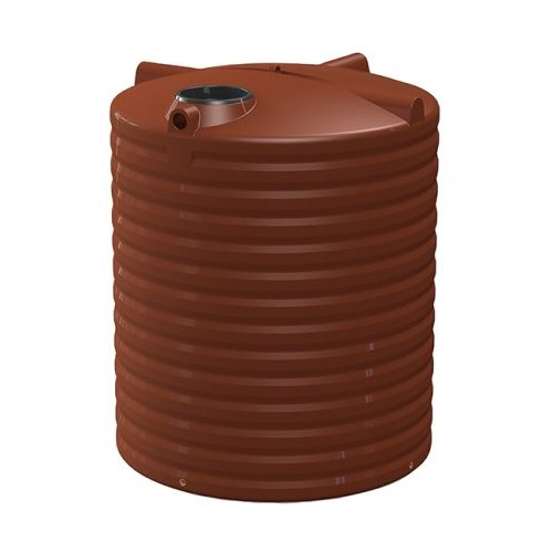 All Weather 5000L Round Rainwater Tank