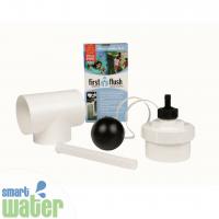 Rain Harvesting: Down-Pipe First Flush Water Diverter
