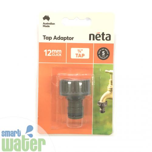 Neta: Plastic Tap Adaptor (12mm Click-On)