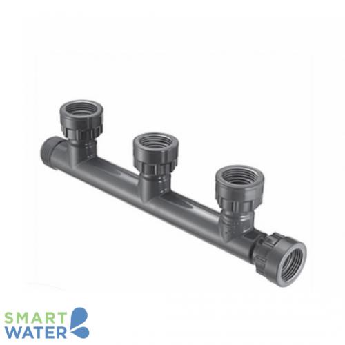 PVC 3-Way Inlet Manifold