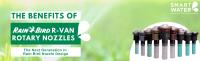 Rain Bird R-VAN Rotary Nozzles: Effective & Efficient Smart Irrigation!