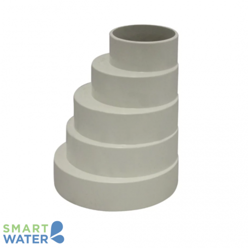 PVC Storm Water Stepped Downpipe Adaptor (90-40mm)