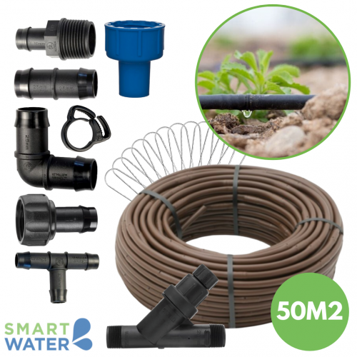 Smart Water: Smart Drip Kit #3 (Up to 50m2)