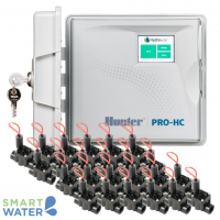 Hunter Hydrawise: Pro-HC O/D Controller & PGV F/C Solenoid Valves (24 Zone)