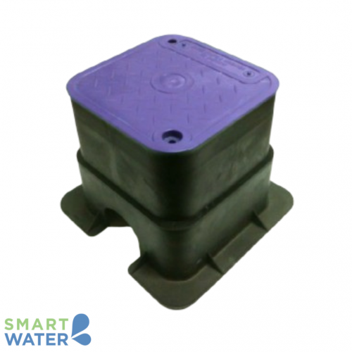 HR: Medium Square Lilac Valve Box (215 x 215 x 215mm)