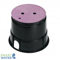 "Rain Bird: 6"" Round Lilac Spotter Valve Box (150 x 150mm)"
