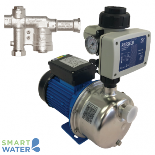 Goulds: BGR Series Pressure Pumps with PresFlo Controller and AcquaSaver 25