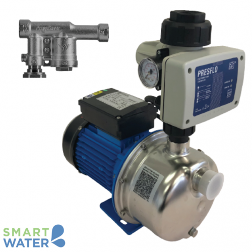 Goulds: BGR Series Pressure Pumps with PresFlo Controller and AcquaSaver 20