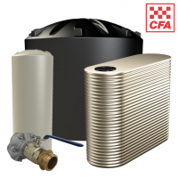 Water Tanks with CFA Fittings