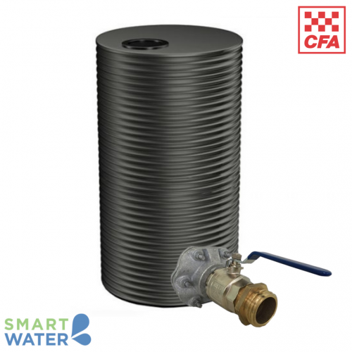 Kingspan: Fire Tank Package with CFA Fittings (10,000L Tall Round)