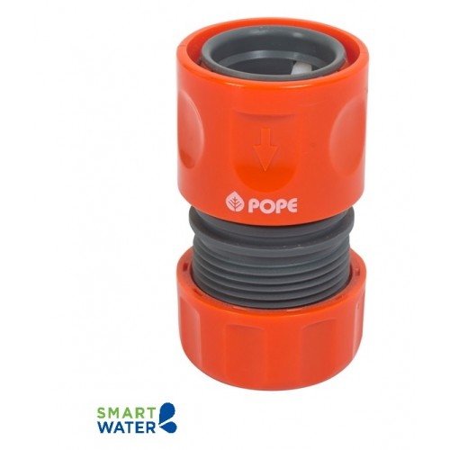 Pope: Plastic High Flow Hose Connector (18mm Click-On)