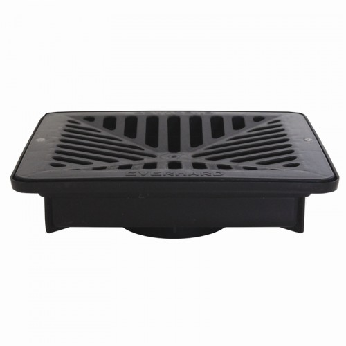Everhard Floway Gully Shallow with Black Grate